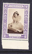 "1937 Coronation ""Purple"" - Princess Elizabeth Mint"