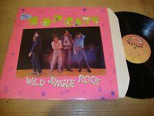 The Bopcats - Wild Jungle Rock  - LP Record  VG+ VG+