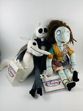 Nwt Jack, Sally & Zero Mini Bean Bag Nightmare Before Christmas Disney Store