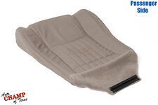 1996-2002 Pontiac Firebird Trans Am-Passenger Side Bottom Leather Seat Cover Tan