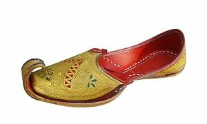 Aladdin Toe Leather Khussa shoes Handmade Gents Shoes sherwani shoes jooti US-10