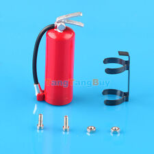 New Red 1/10 Scale Fire Extinguisher 48mm with Metal mount SCX10 RC4WD AX10