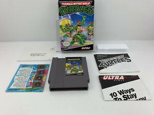 Teenage Mutant Ninja Turtles (NES, 1989) Nintendo CIB 100% complete