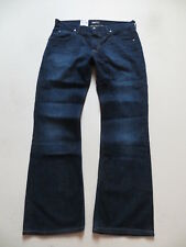 "LEE ""Denver"" Schlag Jeans Hose, W 36 /L 32, NEU ! Flare Leg, dark Indigo Denim !"