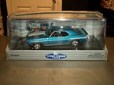 NEW Classic Metal Works 1969 Chevy Yenko Camaro 1:24 Die Cast Car Lemans Blue