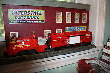 Lionel O Gauge # 6-21753 Service station Fire rescue train NIB made 1998