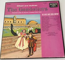 GILBERT AND SULLIVAN'S - THE GONDOLIERS - BOX SET OF 2 LPS - 33 RPM