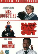 MRS DOUBTFIRE - BABY'S DAY OUT - DR DOLITTLE - NEW 3 DVD BOX SET Robin Williams