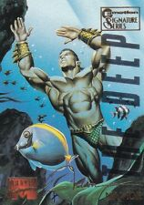 1995 Fleer Marvel Masterpieces E-Motion Trading Card #70 Namor