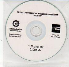 (DS644) Trent Cantrelle vs Princess Superstar, Robot - DJ CD