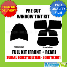 SUBARU FORESTER ESTATE 2008-2011 FULL PRE CUT WINDOW TINT KIT