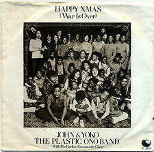"JOHN & YOKO / THE PLASTIC ONO BAND  ""HAPPY CHRISTMAS (WAR IS OVER)""    LISTEN!"