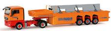 Herpa MAN TGX Xl, Concrete Trans. W/Load Bautrans  1/87