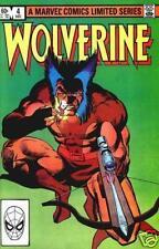 Wolverine # 4 - Mini-Series - Fine Comic Book