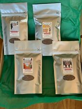 4 top quality flavoured Rooibos loose teas in 90g stay-fresh pouches