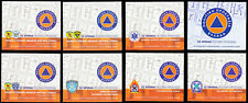 Greece 2020 25 Years of Civil Protection self-adhesive Booklets (8)  MNH