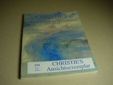 CHRISTIE`S Auktionskatalog British Drawings and Watercolors 8. Juni / June 1999.