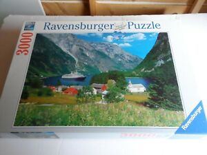 Fascinating Norway - 3000 piece Ravensburger jigsaw puzzle