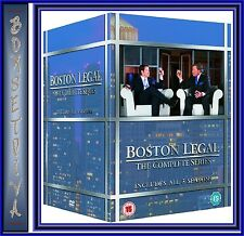 BOSTON LEGAL - COMPLETE SEASONS 1 2 3 4 & 5 ***BRAND NEW DVD BOXSET**