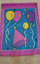 New listing Decorative Birthday Flag