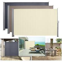 Seitenmarkise Sichtschutz Sonnenschutz Windschutz Terrasse UV-Balkon-Camping