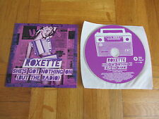 ROXETTE She's Got Nothing On (But The Radio) 2011 EUROPEAN CD single