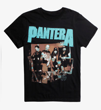 Pantera PANTERA BAND PHOTO Heavy Metal T-Shirt NEW Licensed & Official