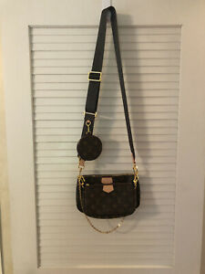Louis Vuitton handbag Multi Pochette Accessories Monogram Cross Body bag