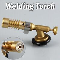 Brazing Welding Nozzle Blow Torch Cassette Butane Gas Plumbing Torch