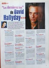 Mag 2005: Interview DAVID HALLYDAY_HELENE DE FOUGEROLLES