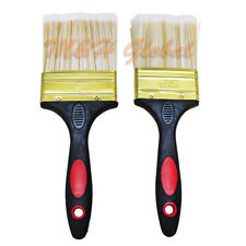 8 PC Dual Handle Paint Brush for Oil Water Base Paint