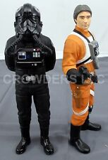 "Star Wars Classic Collector Series 10"" Vinyl TIE Pilot & Wedge Antilles Applause"