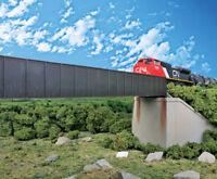 4503 Walthers Cornerstone 90' Single-Track Railroad Deck Girder Bridge HO Scale