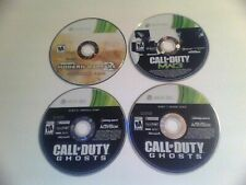 Call of Duty Cliffhanger Demo, MW3, Ghosts (Xbox 360) Games Discs Only