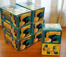CAJA 100 SOBRES DE CROMOS ALBUM POCAHONTAS. PANINI AÑOS 90. STICKER PACKETS BOX.