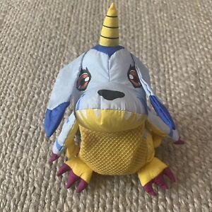 "VTG RARE Digimon GABUMON 8"" Plush Mesh 2000 Playfully Yours Bath Buddy? Anime"