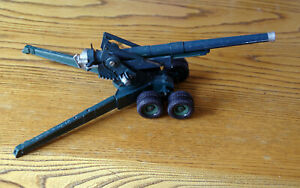 "Britains American ""Long Tom"" 155mm gun no.2064 for parts or renovation"