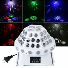 RGB LED Stage Lights Lighting Projector DMX Laser Disco DJ Party KTV Club Lights