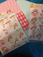 Robin /& Berry Die Cut 3D Decoupage Sheet Paper Crafts Card Making NO CUTTING