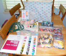 Cross Stitch Lot - Caddy, Storage Cases 508+ Embroidery Floss