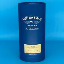 Appleton Estate Aged 21 Years Jamaica Rum Rare Ltd Edition Cylinder EMPTY
