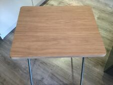 Folding Wood Effect Tray Table - New - TV Tray Table