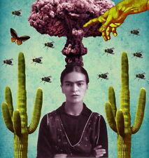 "MX06201 Frida Kahlo - 1907- 1954 Self–Taught Self Portraits Art 14""x15"" Poster"