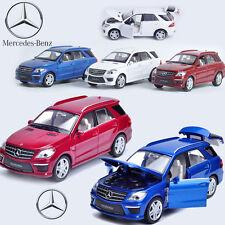 1:32 Mercedes-Benz ML 63 Diecast Model Car Kids Metal Alloy Pull Back Decor Toy