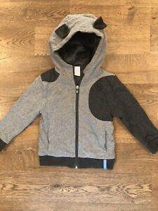 NWT Cubcoats Pimm The Puppy 2 In 1 Transforming Hoodie And Soft Plushie, Sz 4-5