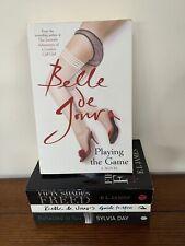 4 Books 1  X Sylvia Day  2 X Belle De Jour 1 x EL James Adult & Erotic