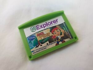 Leap Frog Explorer Disney Jake and the Neverland Pirates Video Game Cartridge