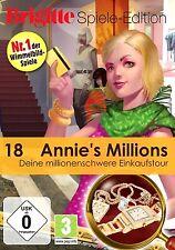 Annies Annie's Millions Deine millionenschwere Einkaufstour Game für Pc Neu Ovp