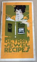 Vintage cookbook Detroit jewel cookbook FREE SHIPPING INV-P1021