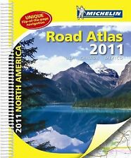 NEW - Michelin North American Road Atlas, 2011: USA, Canada, Mexico
